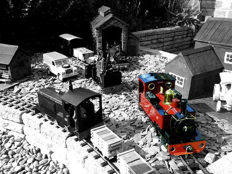 Dylan a construit un univers incroyable avec de simples trains